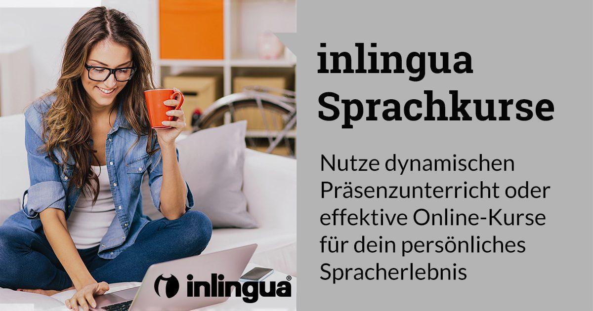 inlingua Kurse mit Präsenzunterricht oder als Online-Kurse