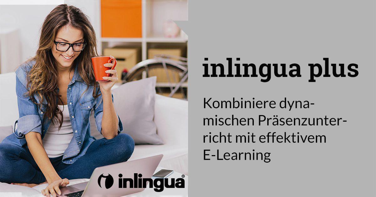 inlingua Plus, Präsenzunterricht kombiniert mit E-Learning